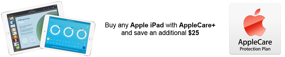 Apple iPad with AppleCare+ Sale Cyber Monday
